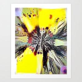 New Radiant Spring Mandala Art Print