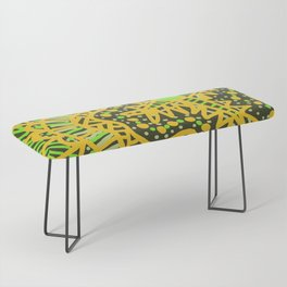 Doodle 16 Yellow Bench