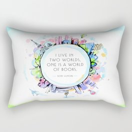 Rory Gilmore Bookish World Rectangular Pillow