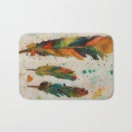 """From The """"Rainbow Bird"""" Bath Mat"""