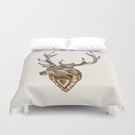 Deer // Animal Poker Duvet Cover