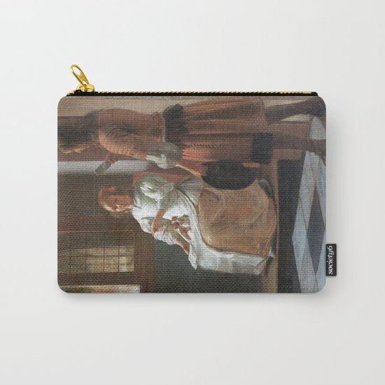 iphone vintage 4 Carry-All Pouch