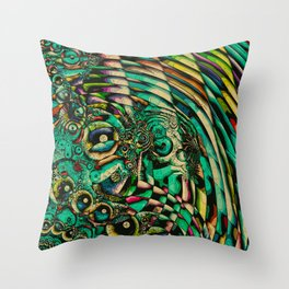 Squirm Throw Pillow
