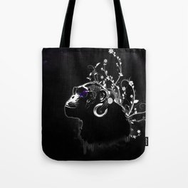 Monkey Tripping - Black Tote Bag