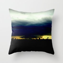 Wall Cloud  Throw Pillow