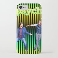 psych iPhone & iPod Cases featuring Psych by KP Designs