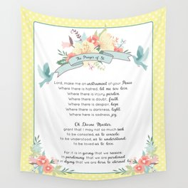 Prayer of St. Francis Wall Tapestry
