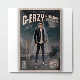 G EAZY IYENG 6 Metal Print