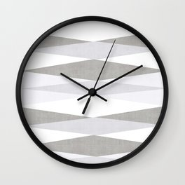 Harar in Grey Wall Clock