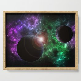 The Kenzie Nebula Serving Tray