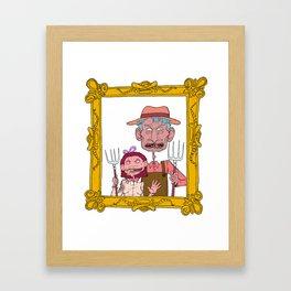 FARM GUYS  Framed Art Print