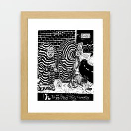 A is for... Framed Art Print