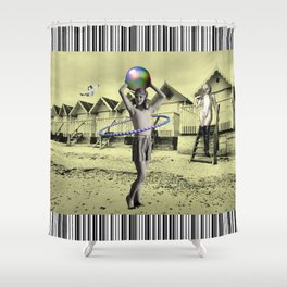 Who'll Play With Me? Shower Curtain