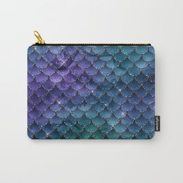 Mermaid Glitter Carry-All Pouch