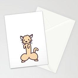 Phallic Cat Stationery Cards