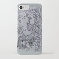 mad iPhone & iPod Cases featuring Mad by Victoria Brown