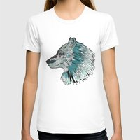 wolves T-shirts featuring Wolves by Chebhead