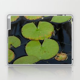 Lillypads in the pond Laptop & iPad Skin