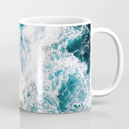 Waves and Sunshine from above – Ocean Photography Coffee Mug