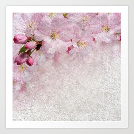 Cherry blossom #10 Art Print