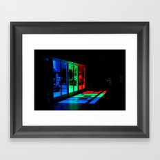 pick a door Framed Art Print
