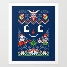 Toy Day Art Print