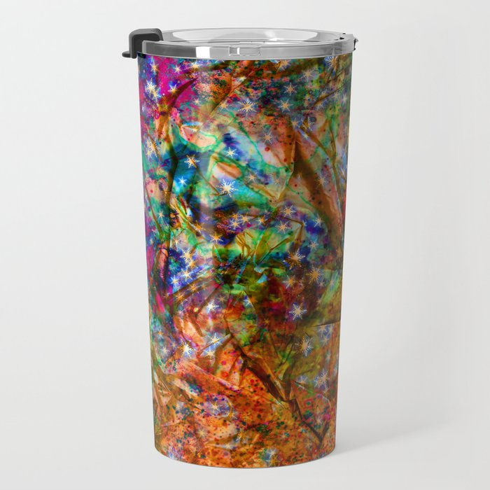 gift wrapping paper Travel Mug
