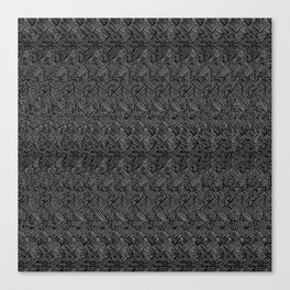 0023 (magic eye concentric squares remix) v2 Canvas Print