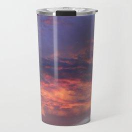 Sunset - Volcano Sky Travel Mug