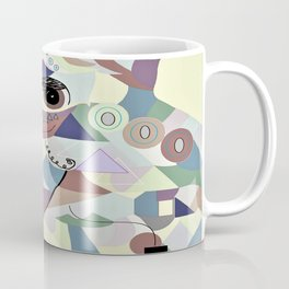 Smooth Fox Terrier Denim Colors Coffee Mug