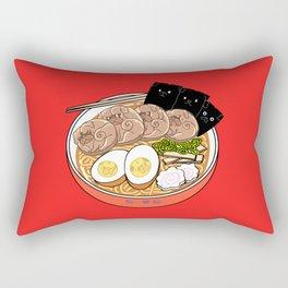 Ramen Pugs Rectangular Pillow