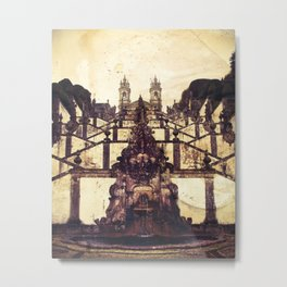 Bom Jesus do Monte, Braga, Portugal Metal Print
