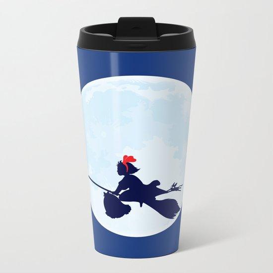 Kiki's Delivery Service Metal Travel Mug