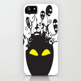 Don't listen to the voices iPhone Case