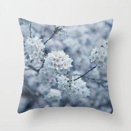 Flower Photography by MissMushroom Throw Pillow