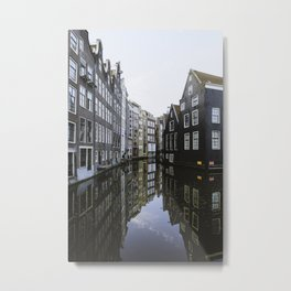 Waterways of Amsterdam Metal Print