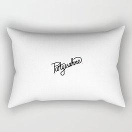 Partysahne   [black] Rectangular Pillow