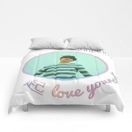 BTS Love Yourself Wonder Design - Jimin Comforters