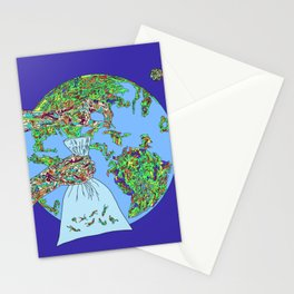 Space Picker Stationery Cards