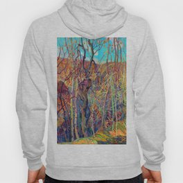 Franklin Carmichael Silvery Tangle Hoody