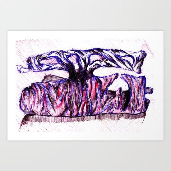SCRAP METAL  Art Print
