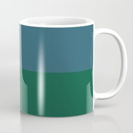 Teal The World Coffee Mug