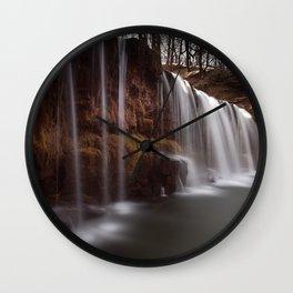 Sgwd Ddwli Uchaf, South Wales Wall Clock