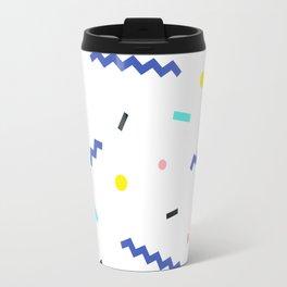 Memphis pattern 52 Travel Mug