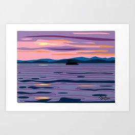 Party Boat Art Print