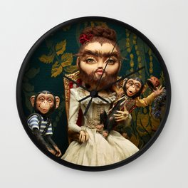 Bearded Helena Wall Clock