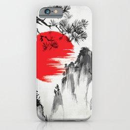 Japanese Landscape v4 iPhone Case