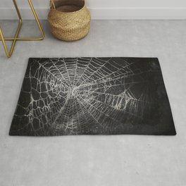 Spiderweb ghost Rug