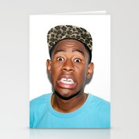 tyler the creator Stationery Cards featuring Tyler The Creator  by Trash Boat
