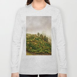 Autumn valley in the cloud Long Sleeve T-shirt